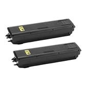 Compatible Twin Pack Kyocera TK-4105 Black Laser Toner Cartridges