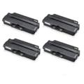 Compatible Quad Pack Samsung MLT-D103S Black Laser Toner Cartridges