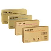 Ricoh 888547/50 Full Set Original Laser Toner Cartridges