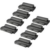 Compatible Eight Pack Samsung SCX-D5530A Black Laser Toner Cartridges
