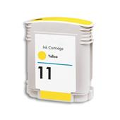 999inks Compatible Yellow HP 11 Inkjet Printer Cartridge