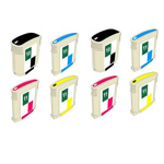 999inks Compatible Multipack HP 10/11 2 Full Set Inkjet Printer Cartridges