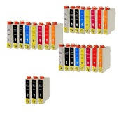 Compatible Multipack Epson T0870/879 3 Full Sets + 3 FREE Black Inkjet Printer Cartridges
