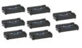999inks Compatible Eight Pack HP 43X High Capacity Laser Toner Cartridges