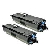 999inks Compatible Twin Pack Utax 4434010010 Black Laser Toner Cartridges