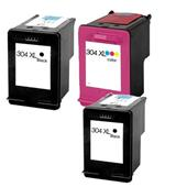 999inks Compatible Multipack HP 304XL 1 Full Set + 1 Extra Black Inkjet Printer Cartridges