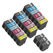 999inks Compatible Multipack Epson T3791 3 Full Sets + 3 FREE Black Inkjet Printer Cartridges