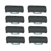999inks Compatible Eight Pack Lexmark E360H31E Black High Capacity Laser Toner Cartridges