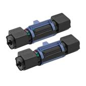 Compatible Twin Pack Brother TN100 Black Laser Toner Cartridges