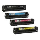 999inks Compatible Multipack Canon 718BK/C/M/Y 1 Full Set Laser Toner Cartridges