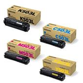 Samsung CLT-503L Full Set Original Laser Toner Cartridges