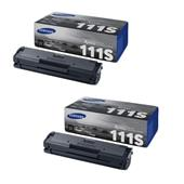 Samsung MLT-D111S Black Original Laser Toner Cartridge Twin Pack
