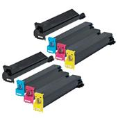 999inks Compatible Multipack Konica Minolta TN312K/C 2 Full Sets Laser Toner Cartridges