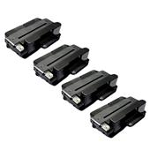 Compatible Quad Pack Xerox 106R02307 Black High Capacity Laser Toner Cartridges