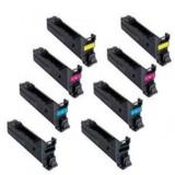 999inks Compatible MultiPack Konica Minolta A0DK152B/Y 2 Full Sets High Capacity Laser Toner Cartridges