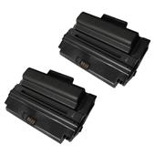 999inks Compatible Twin Pack Xerox 108R00795 Black High Capacity Laser Toner Cartridges