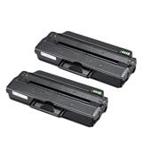 Compatible Twin Pack Samsung MLT-D103L Black High Capacity Laser Toner Cartridges