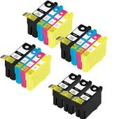 Compatible Multipack Epson T3471 3 Full Sets + 3 FREE Black High Capacity Inkjet Printer Cartridges