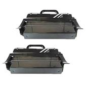 999inks Compatible Twin Pack Lexmark T654X11E Black Extra High Capacity Laser Toner Cartridges