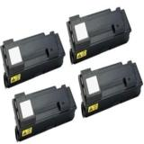 999inks Compatible Quad Pack Kyocera TK-340 Black Laser Toner Cartridges