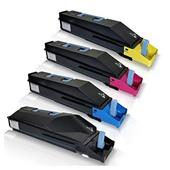 Compatible Multipack Kyocera TK-8505K/Y 1 Full Set Laser Toner Cartridges