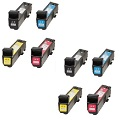 Compatible Multipack HP 825A.824A 2 Full Sets Laser Toner Cartridges