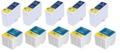 Compatible Multipack Epson S189/S191 5 Full Sets Inkjet Printer Cartridges