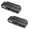 Compatible Twin Pack Samsung MLT-D103S Black Laser Toner Cartridges