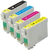 Compatible Multipack Epson T0601 1 Full Set Inkjet Printer Cartridges