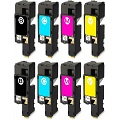 999inks Compatible Multipack Dell 593-11140-43 2 Full Sets High Capacity Laser Toner Cartridges