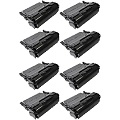 999inks Compatible Eight Pack Lexmark T650A11E Black High Capacity Laser Toner Cartridges