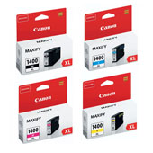 Canon PGI-1400XL Full Set Original High Capacity Inkjet Printer Cartridges