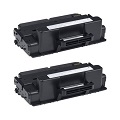 999inks Compatible Twin Pack Dell 593-BBBJ Black Laser Toner Cartridges