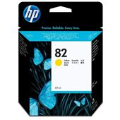 HP 82 Yellow Original High Capacity Ink Cartridge (69ml)