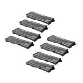 Compatible Eight Pack Ricoh 406837 Black Laser Toner Cartridges