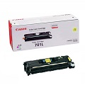 Canon 701 Yellow Original Low Capacity Laser Toner Cartridge