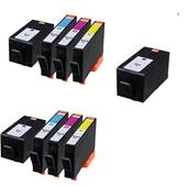 999inks Compatible Multipack HP 934XL/935XL 2 Full Sets + 1 Extra Black Inkjet Printer Cartridges