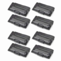 999inks Compatible Eight Pack Samsung ML-D3050A Black Standard Capacity Laser Toner Cartridges