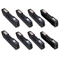 Compatible Multipack Ricoh 406348/51 2 Full Sets Laser Toner Cartridges