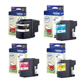Brother LC22U Full Set Original Inkjet Printer Cartridges
