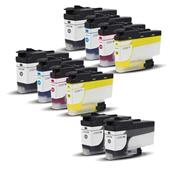 999inks Compatible Multipack Brother LC3237 2 Full Sets + 2 FREE Black Inkjet Printer Cartridges