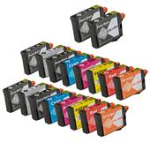 999inks Compatible Multipack Epson T1590 2 Full Sets + 2 FREE Black Inkjet Printer Cartridges