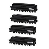 999inks Compatible Quad Pack OKI 09004391 Black High Capacity Laser Toner Cartridges