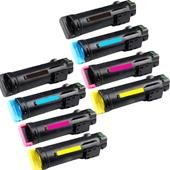 999inks Compatible MultiPack Dell 593-BBSG/BBRY 2 Full Sets Standard Capacity Laser Toner Cartridges