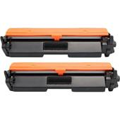 Compatible Twin Pack HP 94X Black High Capacity Laser Toner Cartridges