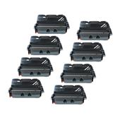 999inks Compatible Eight Pack Lexmark 64416XE Black Extra High Capacity Laser Toner Cartridges