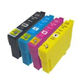 Compatible Multipack Epson T02W14 1 Full Set Inkjet Printer Cartridges