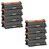 Compatible Eight Pack Brother TN2210 Laser Toner Cartridges