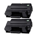999inks Compatible Twin Pack Samsung MLT-D205E Black Laser Toner Cartridges