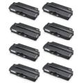 Compatible Eight Pack Samsung MLT-D103S Black Laser Toner Cartridges